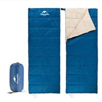 New Ultralight Portable Envelope Cotton Sleeping Bag Camping...