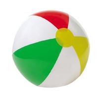 الصغيرة 4 ألوان كرة الشاطئ نفخ البلاستيك الكرة للطفل الطفل في الهواء الطلق اللعب 41CM في قطر