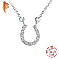 Belawang 100% 925 Sterling Silver Pendant Necklaces Cubic zi...