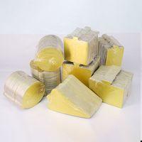 Mousse kek sepetleri altın renk kek cottar kek ped altın kart kağıt pad üçgen yuvarlak kare Dikdörtgen conta 100 / set