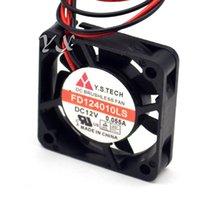 Filo di computer gratuito Y.S.Tech 40mm 4010 12V FD124010LS 4 cm DC Cooling Cooling originale Ultra-Tranquillo Caso di spedizione 0.055A Ventilatori industriali KPDVQ