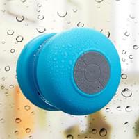 Impermeable portátil inalámbrica Bluetooth Mini Altavoces ducha teléfono inteligente de llamadas Manos libres Música succión Mic para el iPhone teléfono móvil