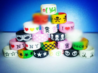 1000pcs DHL Free to Custom Vape Bands Wide 12mm Colorful Log...