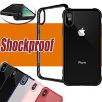 For iPhone X Case Shockproof Plastic Hard PC Back Cover Anti...