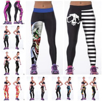 Women Leggings 3D Print Sports Leggings Fashion Sexy Stars P...