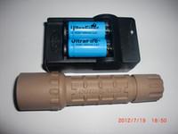 sand surefire G2 set Cree R2 300Lm Uwe SURE UltraFIRE G2 6P P60 Nero BK corpo torcia cacciatore tattico 16340 RCR123A set caricabatterie