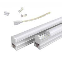 T5 1.2M 통합 22W LED 튜브 조명 96pcs SMD 2835 LED 형광 4FT 튜브 라이트 AC 85-277V 따뜻한 / 멋진 흰색