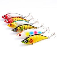 Fly Fishing VIB Карандаш Crankbait 3D Глаза 8 см 11.8 г Окрашенные Литье Лазерная приманка Искусственная приманка