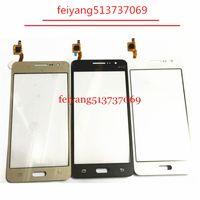 10pcs Orijinal Dokunmatik Panel İçin Samsung Galaxy Grand Prime G531 G531F H Dokunmatik Ekran Sayısallaştırıcı sensörü Cam mercek