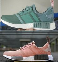 2018 popular Discount pink NMD Runner PK Black Sneakers Runn...