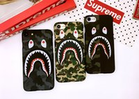 NEW Hot Top Quality Cool Fashion Shark Case For iPhone 7 6 6...