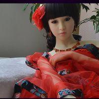 Реалистичного секс кукла китайская куклы Производители дешевой цена 158 см Большой грудь Ass Tan кожи обогреваемого секс силикон кукла Теплые для мужчин