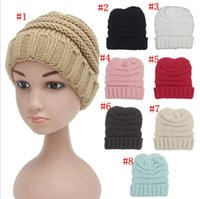 30 Pcs kids Winter Warm Hat Knitted hat caps children Simple...
