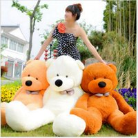 2018 Factory hot 6 FEET BIG TEDDY BEAR STUFFED 5 Colors GIAN...