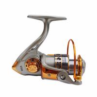 Nunca rompa GF 3BB 5.2: 1 Carrete de pesca de aluminio completo de metal Spinning Boat Impermeable UT Carbon Drag Ultra Smooth