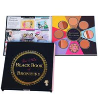 Free DHL 2 Faced New THE LITTLE BLACK BOOK OF BRONZERS Palet...