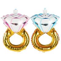 Mini Liebhaber Hochzeit Ehe Ballon, Diamant Ballon Ring Engagement Folie Valentine Ballons Partei Spielzeug