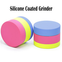 Silicone Coated Grinder Zinc Alloy Herb Grinder Coated With ...