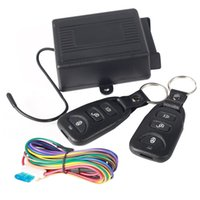 Fechadura da porta central do carro universal Keyless Entry System + 2 controle remoto M00031