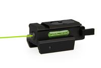 NUOVO Arrivo Laser Sight Tactical Green Scope con sistema di montaggio da 20 mm Nero per esterno CL20-0018