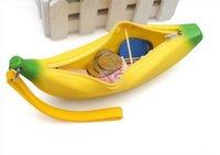 여성 가방에 대 한 노란색 바나나 지갑 동전 사랑스러운 연필 어린이 지갑 실리콘 kawaii ulrica 키즈 케이스 귀여운 재미 W XGDGD
