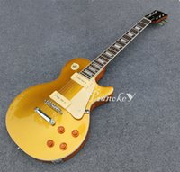 Gold sparkle color standard guitar, P90 pickups, hot selling ...