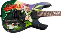Kirk Hammett Ltd KH-3 Karloff Mummy Dracula Elektrische Gitaar Custom Geschilderd Airbrushed door Eye Kandi, EMG Pickups, Floyd Rose Tremolo Bridge