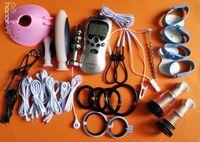 2017 scossa elettrica di vendite calde corredo, giocattoli a tema medici del sesso dell'elettrone, prodotti del sesso per le donne dell'uomo della coppia