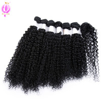 Doheroine Pre- colored 1B# Peruvian Virgin Kinky Curly Hair 6...
