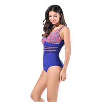 Plus size swimwear one piece swimsuit Swimwear Female depart...