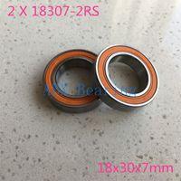Wholesale- 2pcs / lot 6903/18 18307-2RS 18307 6903 RS MR18307-2RS 18x30x7 베어링 표준 자전거 자전거 없음 18 * 30 * 7