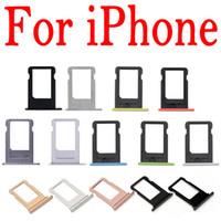 Держатель лотка SIM-карты для iPhone 4G 4S 5 5G 5C 5S 6 6S 7G 7 плюс 4.7 5.5 замена