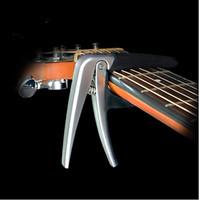 Ücretsiz kargo AROMA Yüksek Kalite Gitar Capo Çinko Alaşım halk Elektrik Akustik Gitar Capo Silikon Yastık Guitarra Capo