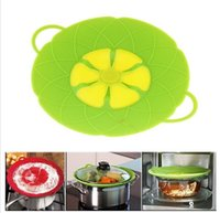 Silicone Lid Spill Stopper Silicone Cover Lid For Pan Cookin...