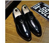 Para promover nuevos zapatos de cúspes de cúspide rojo zapatos de vestir de hombre de negocios zapatos de diseño de marca de calidad superior para hombres boda