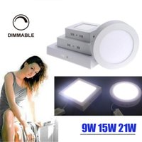 Dimmable 9W 15W 21W Led Panel lamp DownlightS Ceiling LIGHTS...