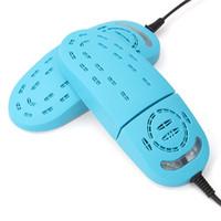 Secadora eléctrica del ozono Secador del zócalo para los zapatos Esterilizador ULTRAVIOLETA Calentadores del desodorizador del zapato Deshumidificador Calentador Protector del pie