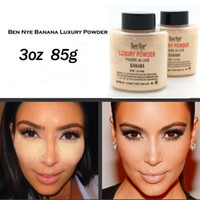 Hot Ben Nye Banana Powder 3oz 85g Bottle Luxury Powder Luxury Banana Loose Foundation Beauty Makeup Бесплатная доставка