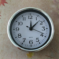 Vente en gros CE 5PCS Diamètre 102MM Argenté Horloge À Quartz Insert FIT-UP Kits De Réparation Livraison Gratuite