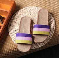 New Sale Linen Slipper Lover Summer Style Floor Nonslip Brea...