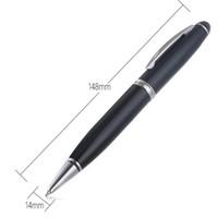 مصغرة 2 في 1 مسجل صوت رقمي 8GB القلم ميني USB مسجل الصوت القلم الإملاء القلم قابلة للشحن مع مربع البيع بالتجزئة