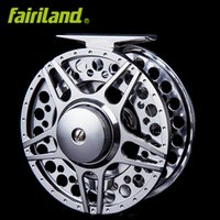 5 6 90mm 3. 54in 2BB+ 1RB Full metal fly fishing reel LARGE AR...