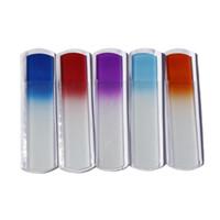 """En iyi Ayak Dosyası 6.5 """"Kristal Cam Spa Bar Slab Ayak Dosya Kazıyıcı Drop Shipping"""