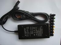 Оптовая продажа-горячая продажа универсальный 96W 4.0 A DC ноутбук ноутбук AC зарядное устройство адаптер питания с вилкой 50ps / лот