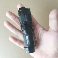 DHL Free Mini LED Flashlight ZOOM 7W CREE 300LM Waterproof L...