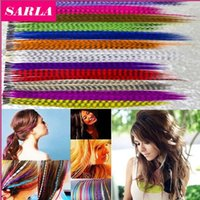 10000 pçs / lote Comprimento Colorido 16 polegadas 40 cm 14 cores Sintético Disponível Grisalho Loop Extensões de Cabelo Pena peruca