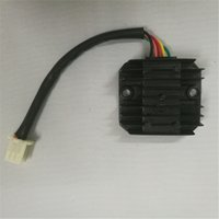1 unids rectificador regulador de voltaje 5 cables para ATV Quad 125cc 150cc Dirt Bike Motocicleta
