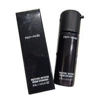 Célèbre Marque Hot Face Prep + Prime Sérum Hydratation Infusion Hydratant Primer 50 ml Fondation En Verre Bouteilles DHL Livraison Gratuite
