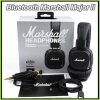 Cuffie senza fili Bluetooth Marshall Major II 2.0 Cuffie senza fili Marshall Major II Cuffie DJ Cuffie da studio