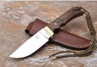 jabalí 0011 hoja recta VG10 61-62HRC HRC Manija hoja fija Cuchillos que acampan cuchillo táctico del cuchillo de navidad regalo para el hombre freeshipping 1pcs